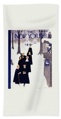 New Yorker November 27 1954 Beach Towel