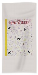 New Yorker October 1 1955 Beach Towel