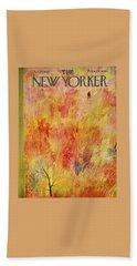 New Yorker October 12th 1957 Beach Towel