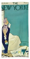 New Yorker October 23 1943 Beach Towel