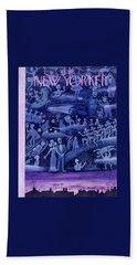 New Yorker October 24 1953 Beach Towel