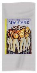 New Yorker October 25 1958 Beach Towel