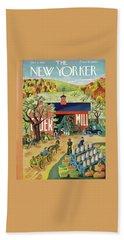 New Yorker October 4 1941 Beach Towel