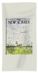 New Yorker October 4 1976 Beach Towel