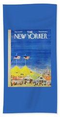 New Yorker September 28 1957 Beach Towel