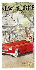 New Yorker September 4 1954 Beach Towel