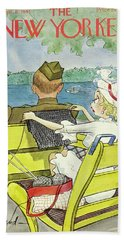 New Yorker September 6 1941 Beach Towel