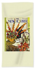 New Yorker September 6 1952 Beach Towel