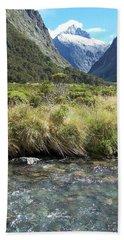 New Zealand Landscape 2 Beach Sheet