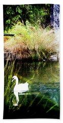 New Zealand Swan Beach Towel