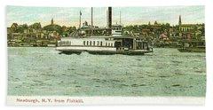 Newburgh Steamers Ferrys And River - 24 Beach Sheet