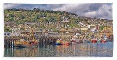 Newlyn Harbour Cornwall 2 Beach Sheet