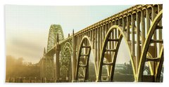 Newport Bridge Beach Towel