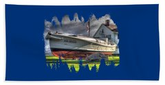 Newport Coast Guard Station Beach Towel