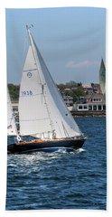 Newport Rhode Island Beach Sheet by Tom Prendergast