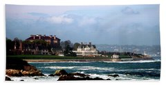 Newport Rhoad Island  Beach Towel by Don Wright