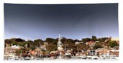 Beach Sheet featuring the photograph Newport by Tom Prendergast