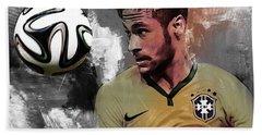 Neymar 051a Beach Towel