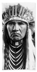 Nez Perce Native American - To License For Professional Use Visit Granger.com Beach Towel