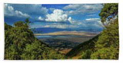 Ngorongoro Crater Beach Towel