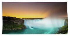 Niagara Falls  Beach Towel by Mariusz Czajkowski