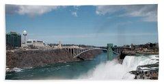 Niagara Falls New York Beach Towel