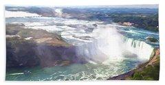 Niagara Horseshoe Falls Beach Sheet