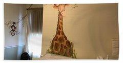 Nicks Room Beach Towel