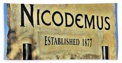 Nicodemus, 1877 Beach Towel