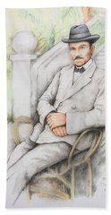Nicolo Minca. 1908 Beach Towel