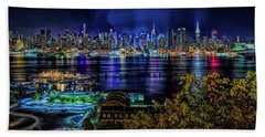 Night Beauty Beach Towel