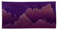 Night Beach Towel by Dr Loifer Vladimir
