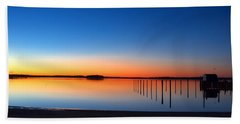 Night Fall Beach Towel