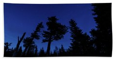 Night Giants Beach Towel