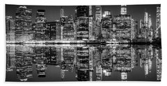 Beach Towel featuring the photograph Night Grooves by Az Jackson