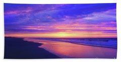 Night Is Over Beach Towel