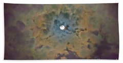 Night Moon Beach Towel