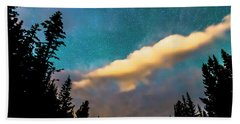Beach Towel featuring the photograph Night Moves by James BO Insogna