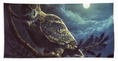 Night Owl Beach Sheet