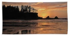 Night Pastel Beach Towel
