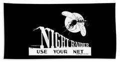 Night Raider Ww2 Malaria Poster Beach Towel