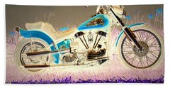 Beach Towel featuring the photograph Night Rider by Joyce Dickens