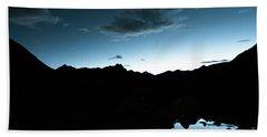 Night Sky Himalayas Tibet Yantra.lv Beach Towel