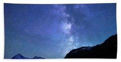 Night Sky In David Thomson Country Beach Towel