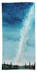 Night Sky Beach Towel