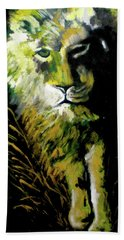 Night Stalker Beach Towel