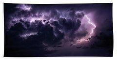 Night Storm Beach Sheet