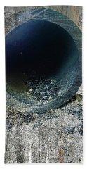 Beach Sheet featuring the mixed media Night by Tony Rubino