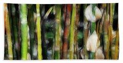 Nightly Bamboo Jungle Beach Towel
