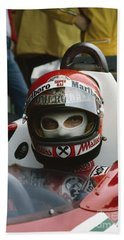 Niki Lauda. 1977 Austrian Grand Prix Beach Towel